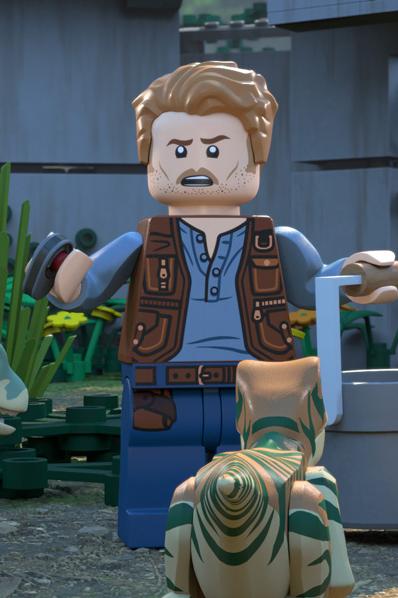 Lego Jurassic Pasaule: Isla Nublar leģenda